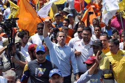 O líder da oposição da Venezuela, Juan Guaidó.