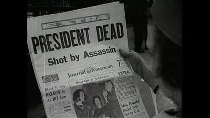 Imagem do documentário 'JFK revisited: through the looking glass'.