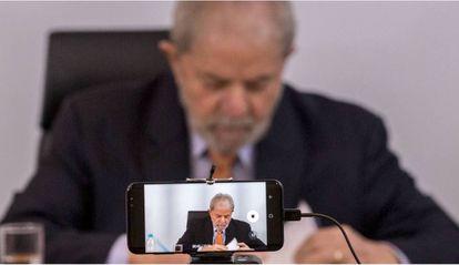 O ex-presidente Lula, em entrevista em 2017.