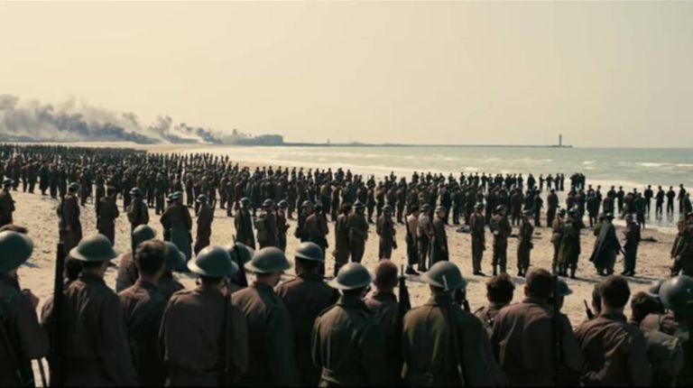 Cena de <i>Dunkirk</i>, de Cristopher Nolan
