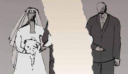 O homem pediu divórcio depois de saber que é estéril