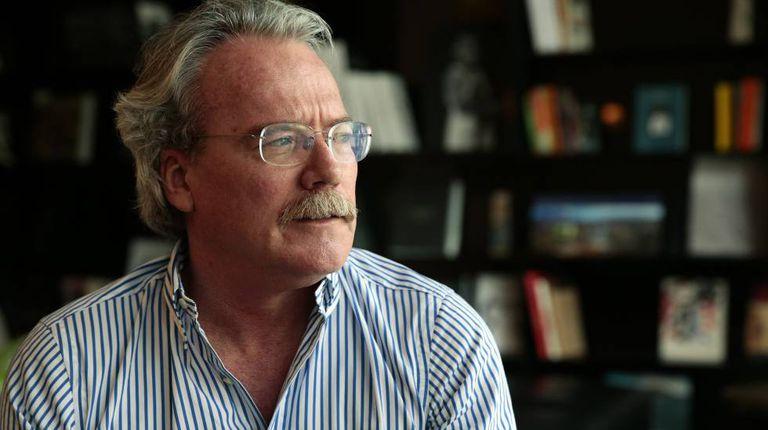 O escritor venezuelano Alberto Barrera Tyzka, em 2015