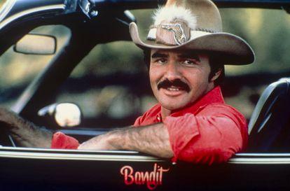 Burt Reynolds, em 'Agarra-me se Puderes', de 1977.
