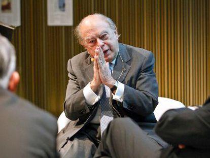 Jordi Pujol, no Museu de Arte Contemporânea em 2012.
