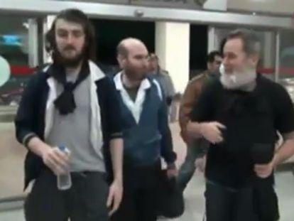 Libertados quatro jornalistas franceses sequestrados há 10 meses na Síria