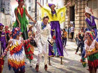 Conan O'Brien em Havana.