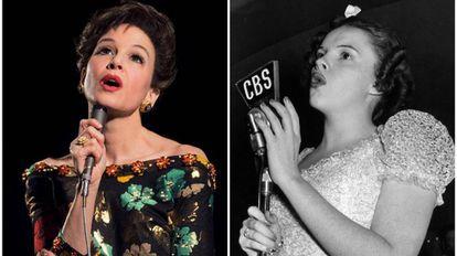 Renée Zellweger e Judy Garland.
