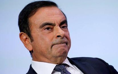Carlos Ghosn em 1º. de outubro em Paris.