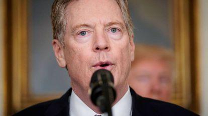 Robert Lighthizer, representante de Comércio Internacional dos EUA .