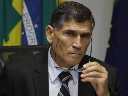 O general Santos Cruz, futuro ministro da Secretaria de Governo.