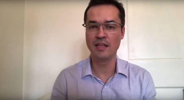 O procurador da Lava Jato Deltan Dallagnol, em vídeo publicado nesta segunda.