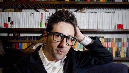 O escritor Patricio Pron, em 2013