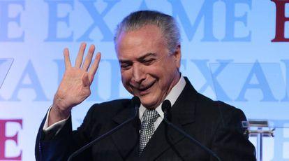 Temer em São Paulo na sexta.