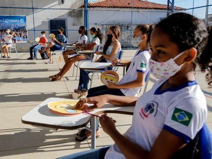 Volta às aulas na rede municipal de Oeiras, no Piauí.