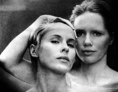 Bibi Andersson e Liv Ullmann em 'Persona'.