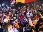 Baile da DZ7, em Paraisopolis na madrugada de domingo uma semana depois do massacre.