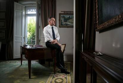 Niall Ferguson, escritor e historiador, em uma imagem de arquivo de 2018 em Madri.