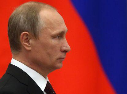 Putin, em 31 de julho no Kremlin.