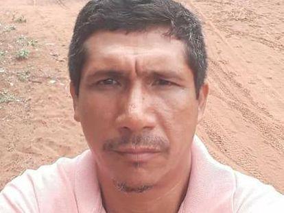 Zezico Rodrigues Guajajara, liderança da TI Arariboia e diretor do Centro de Educação Escolar Azuru.