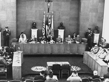 Junta Interamericana de Defesa (ou Operação Condor), em 1968.