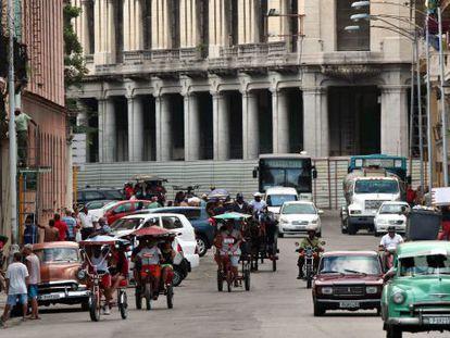 Uma rua de Havana (Cuba)