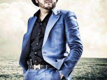 O cantor mexicano Gerardo Ortiz.