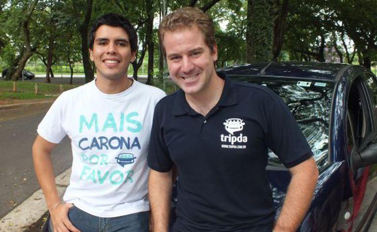 Daniel Bedoya e Pedro Meduna, da Tripda.