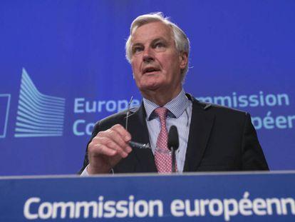 Michel Barnier, negociador-chefe da Comissão Europeia para o 'Brexit'.