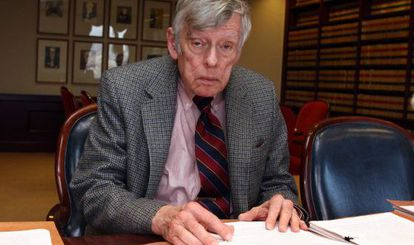 O juiz Thomas Griesa, em uma imagem de 2010