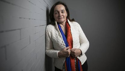 Marta Lagos, diretora do instituto de pesquisas Latinobarómetro, na segunda-feira passada em Madri.