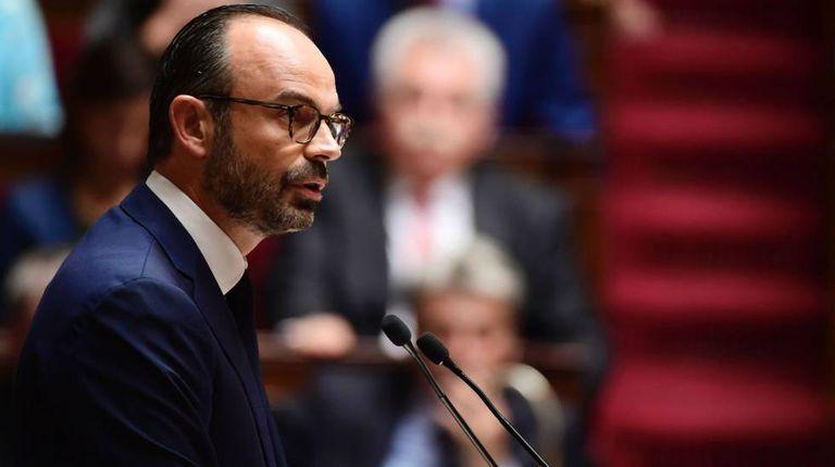 Édouard Philippe, terça-feira na Assembleia Nacional