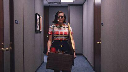 Peggy Olson, em 'Mad Men'.