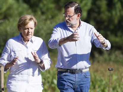 Rajoy se reúne com Merkel para recuperar o poder da Espanha na UE