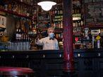 DVD 1021 Madrid 1/10/2020Reportaje sobre la reducción de aforo en bares por las nuevas restricciones del Covid Foto: Inma Flores