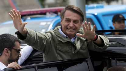 Jair Bolsonaro, presidente eleito do Brasil.