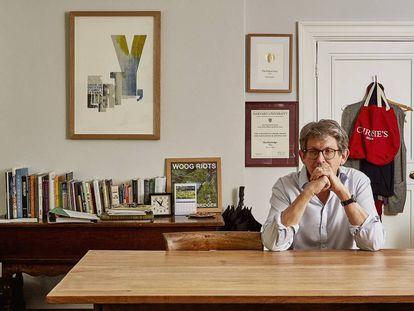 Alan Rusbridger, em seu escritório de Oxford.