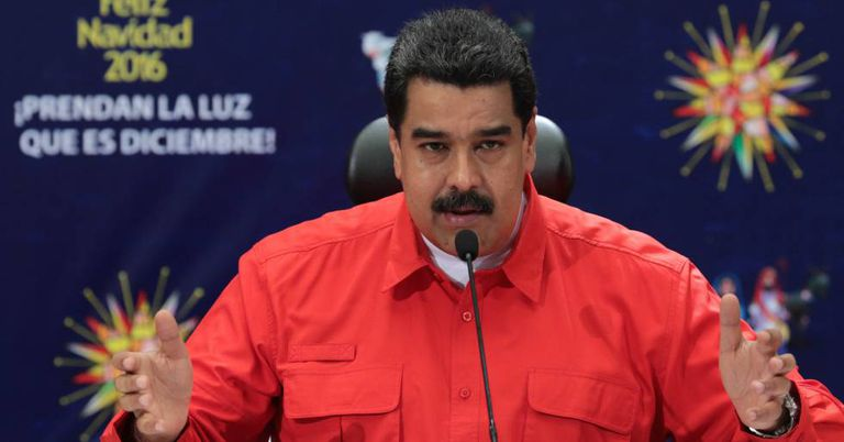 Nicolás Maduro em evento recente.