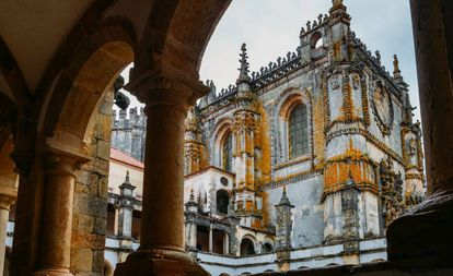 Convento de Cristo de Tomar, no distrito português de Santarém.