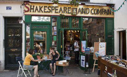 A livraria Shakespeare and Company em 2020.