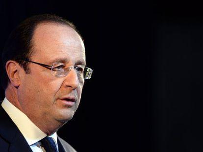O presidente Hollande nesta sexta-feira em Roma.