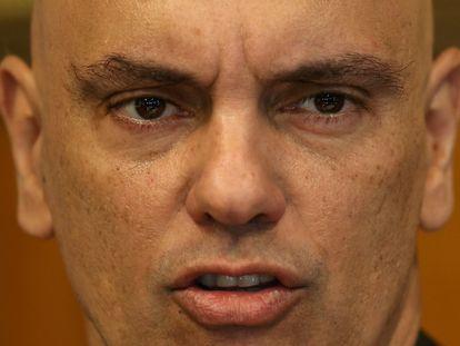 O ministro do Supremo, Alexandre de Moraes.