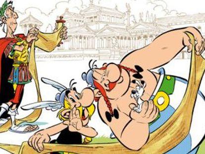 Asterix e Obelix se inspiram em Julian Assange