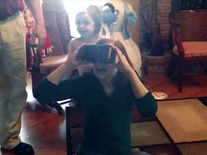 Assim é ver após oito anos de cegueira, graças aos óculos de realidade virtual