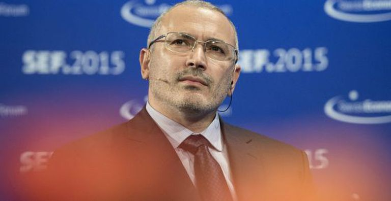 Khodorkovsky, durante sua participação no Fórum Econômico Suíço (SEF), em Interlaken (Suíça), em junho passado.
