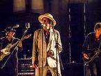 Bob Dylan actuando en Barcelona en 2015.  Foto, Ignacio Itarte