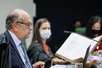 Gilmar Mendes, em sessão da Segunda Turma do STF.