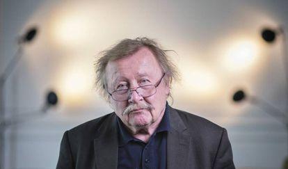 Peter Sloterdijk, fotografado em Barcelona em 2 de maio.