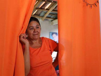 Mulher agricultora de Pernambuco, nordeste do Brasil