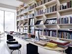 Vista de la librería Ivorypress contigua a la galería y sede de la editorial en Madrid.