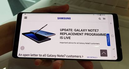 A Samsung quer deixar para trás o fiasco do Note 7 e suas baterias explosivas